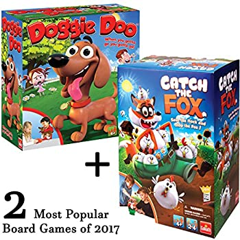 Classic Board Games - Catch a Fox AND Doggie Doo Bundle 2 items