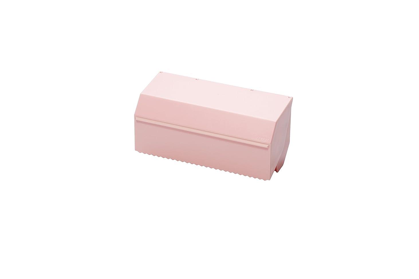 メタン冷笑する囲むイデアコ キッチンタオルディスペンサー ピンク (マット)