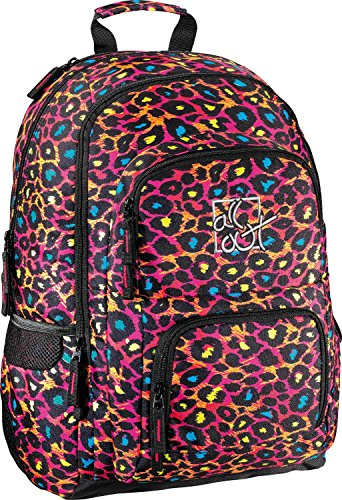 All Out Rucksack Louth Leopard leopard
