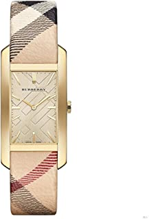 Burberry BU9407 Watch Pioneer Ladies - Gold Dial Stainless Steel Case Quartz Movement