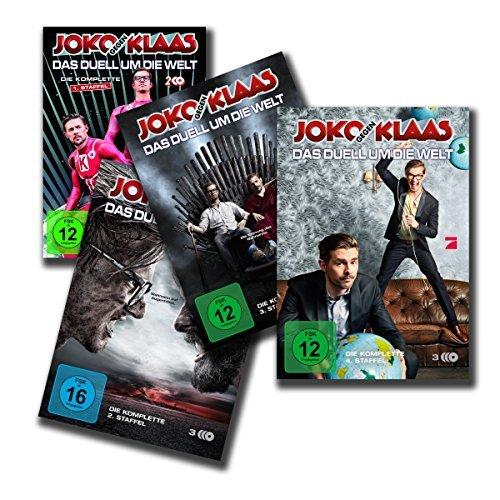 Joko gegen Klaas - Das Duell um die Welt: Alle 4 Staffeln: 1. + 2. + 3. + 4. Staffel [12 DVDs]