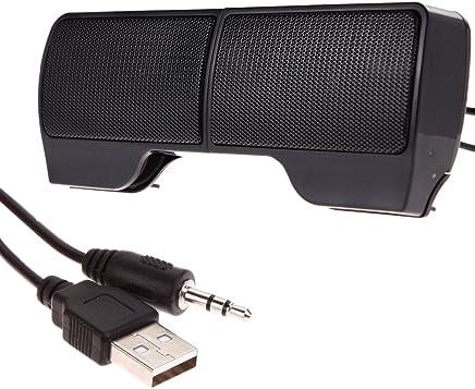 Demiawaking Mini Altoparlante Stereo USB Portatile Soundbar per Notebook Laptop Mp3 Phone PC - Trova i prezzi più bassi