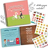 Wedding Anniversary Humor Book A Hardcover Marriage Memory Book To Cherish Special And Funny Moments Lived Together With Your Spouse! Personalized & Unique Presents For Husband & Wife Wedding Anniversary Humor Book A Hardcover Marriage Memory Book To...