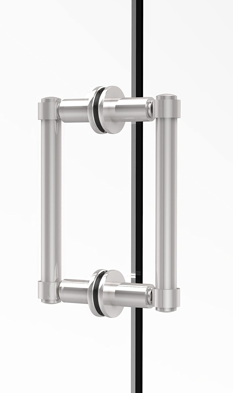 Allied Brass 405-6BB-PC Contemporary 6  Back To Back Shower Door Pull,
