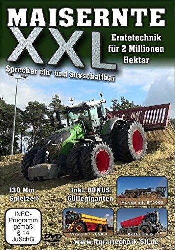 Maisernte XXL - Erntetechnik für 2 Millionen Hektar