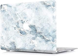 MacBook Pro 13 ケース 2018 & 2017 & 2016 (モデル: A1989 & A1706 と A1708)-L2W 大理石のパターンプラスチックは、新しい MacBook Pro のための保護シェルカバーをつや消しゴムコーティング/タッチバーとタッチの ID-大理石 S4 のない13インチ