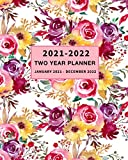 Two Year Planner 2021-2022: Weekly and Monthly Calendar Planner January 2021 - December 2022