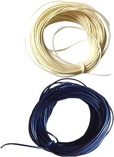 HOMYL 20M Wax Nylon String Rope DIY Bracelet Necklace Making Jewelry Cord Thread
