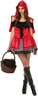 Sizzling Little Red Riding Hood | Women's Halloween Costume Sexy Fairytale