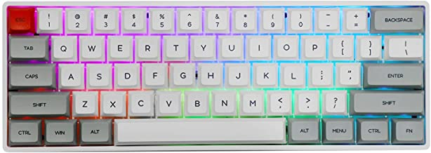 EPOMAKER SKYLOONG SK61 61 Keys Hot Swappable Mechanical Keyboard with RGB Backlit, NKRO, IP6X Waterproof, Type-C Cable for...