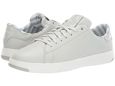 Cole Haan GrandPro Tennis Sneaker (Smoke Leather/Patent Leather/Optic White) Women