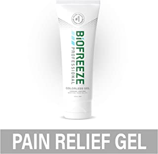 Biofreeze Professional Pain Relief Gel, 4 oz. Tube, Colorless