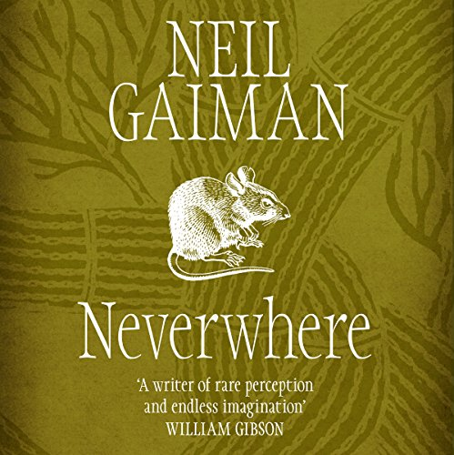 Neverwhere audiobook cover art