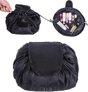 Bolsa de CosméticosONEGenug Bolsa de Maquillaje Organizador de un Solo Paso con Diseño de Cordón Bolsa de Cosméticos pa...