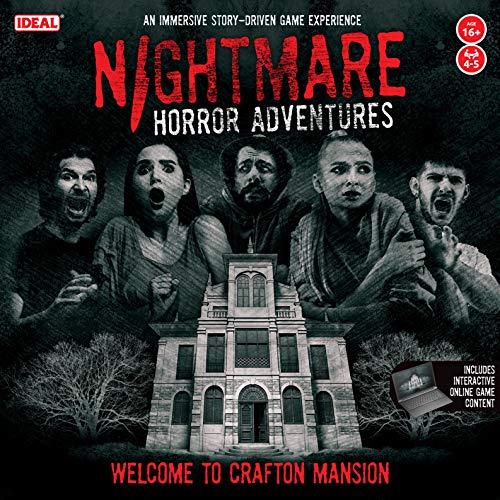 John Adams 10830 Nightmare Horror Adventures-Bienvenido a Crafton Mansion Juego para Adultos inmersivo