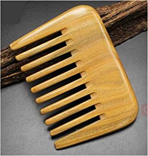 LALANG Natural Wooden Care Hair Wide Tooth Comb Beard Comb Travel Make Up Accessories