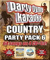Party Tyme Karaoke: Country Party Pack 6