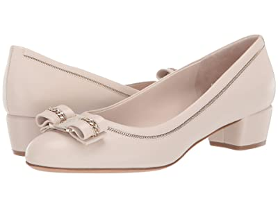 Salvatore Ferragamo Vara 30 Chain (Bone) Women