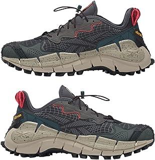 Reebok Zig Kinetica II Edge Chaussures de Sport pour courrir pour Hommes Couleur Core Black/Midnight Pine/Beige Taille 43