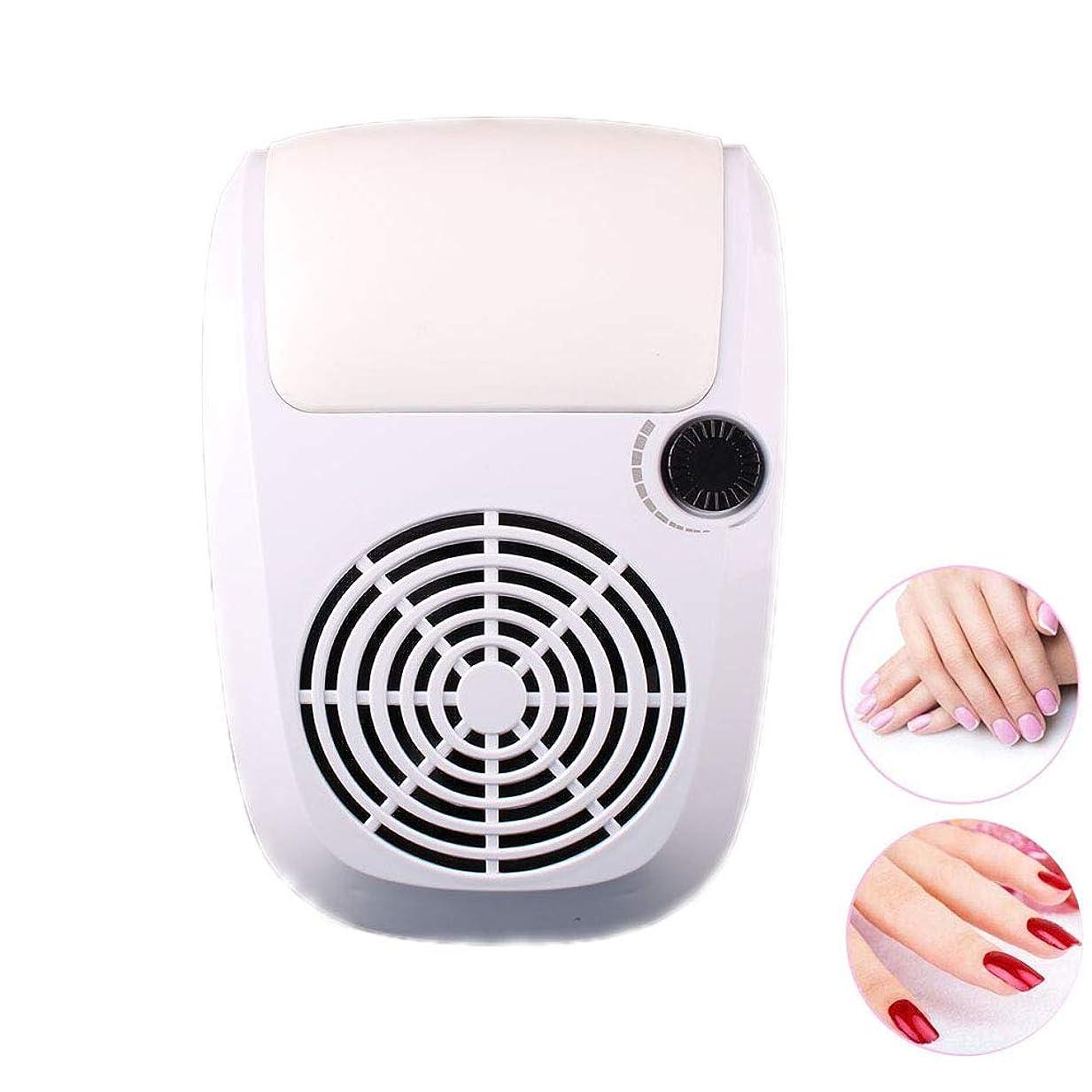 効果過度の敏感な調節可能な掃除機、2つの塵袋が付いている調節可能で強力で釘の掃除機のマニキュア用具、実用的で釘の大広間のクリーニング装置,白