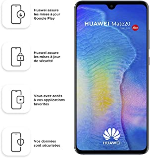 comprar comparacion Huawei Mate20 128 GB/4 GB Dual SIM Smartphone - Midnight Blue (West European)
