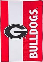 Team Sports America Collegiate University of Georgia Embroidered Logo Applique Garden Flag, 12.5 x 18 inches Indoor Outdoo...