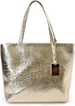 Best gold metallic beach bag Reviews