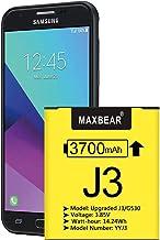 Galaxy J3 Battery, (Upgraded) MAXBEAR 3700mAh 3.85V...