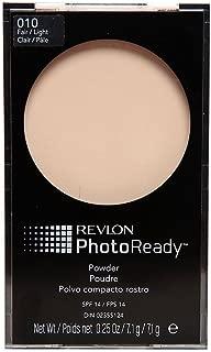 Revlon Photo Ready Compact Powder SPF 14, Fair and Light 7.1g