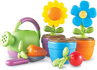Learning Resources New Sprouts Grow It! Toddler Gardening Set, Pretend Play, Easter Basket Toy, 9 Pieces, Ages 2+