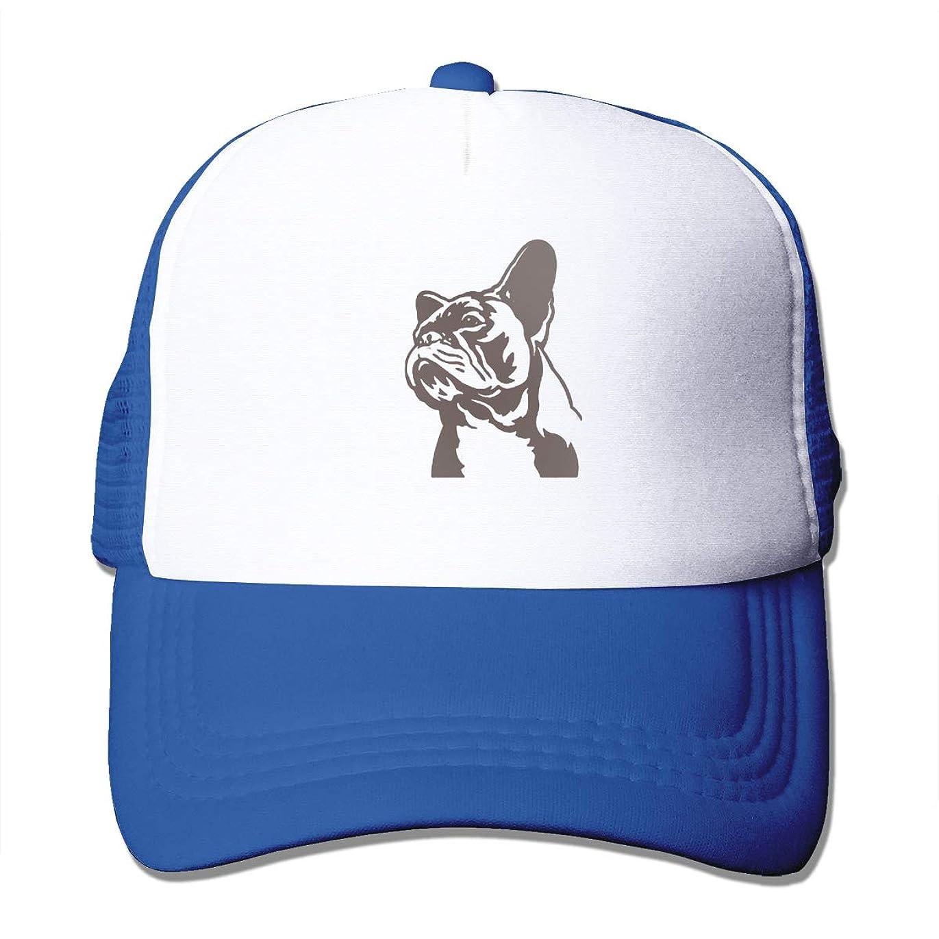 適格つぼみくさびLuxury-french-bulldog-pillow-or-1-74-french-bulldog-pillow-cases メッシュキャップ スポーツ帽子 野球 遠足 運転 アウトドアなど 速乾性 通気性 メンズ レディース日焼け防止