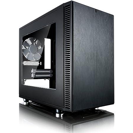 Fractal Design Define Nano S - Black - Window version ミニタワー型PCケース CS6034 FD-CA-DEF-NANO-S-BK-W