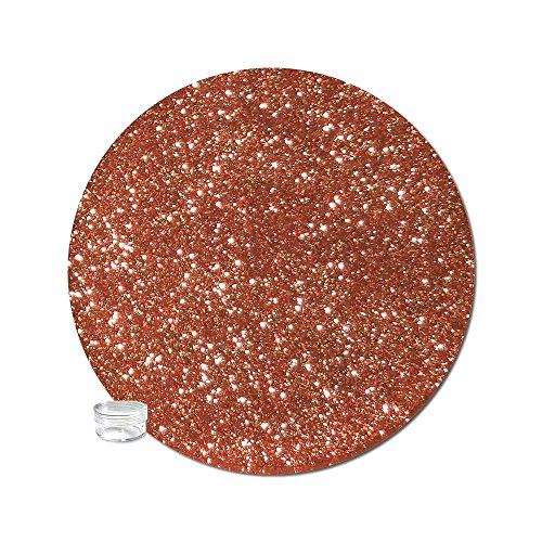 Glitter My World! Ultra Fine Glitter Metallic: True Copper Bitty Jar