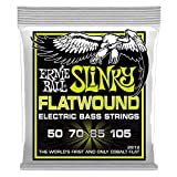 Ernie Ball Regular Slinky Flatwound Bass Set, .050 - .105