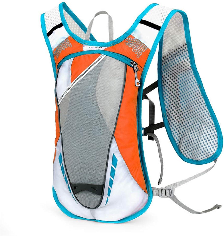 Sport Hydration Backpack Unisex,Outdoors Sport Trail Marathoner Running Race Lightweight Rucksack for Men & Women