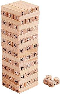 Funnyrunstore 54 Piezas Bloques de construcción apilados