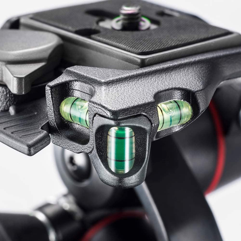 Manfrotto X-PRO 3-Way Tripod Head, for Camera Tripods, Fluid Ball Head, Camera Stabilizer, Photography Accessories for Content Creation, Professional Photography : Electronics