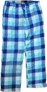 Womens Printed Fleece Pajama Sleep Lounge Pants- Plus Size