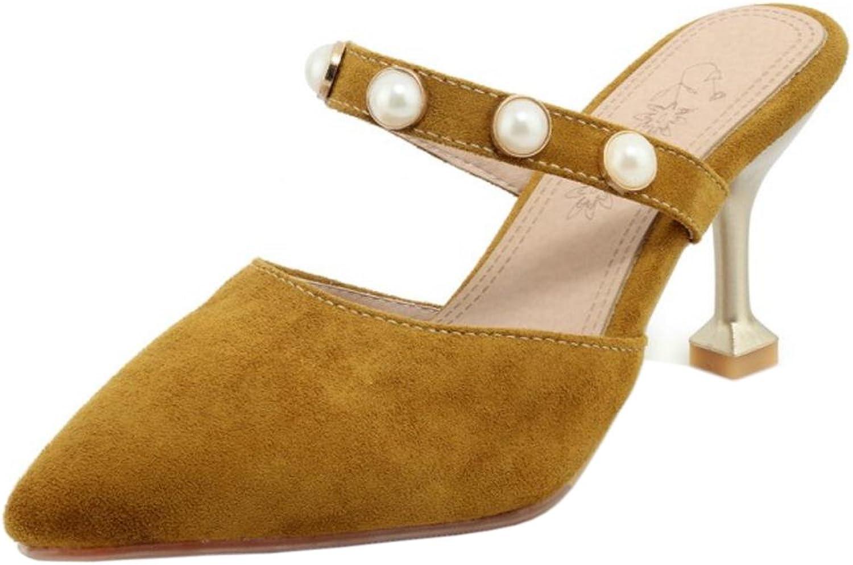 AicciAizzi Women Fashion Closed Toe Mules shoes