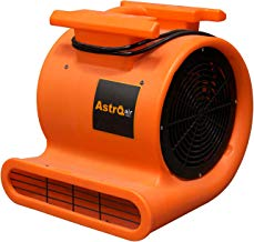 AstroDry Pro Air Mover Carpet Floor Dryer 3 Speed 1 HP 2000 CFM High Velocity Blower Fan for Industrial Water Flood Damage Restoration, Ventilation & Cleaning-Orange,AD100
