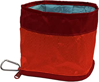 Kurgo 01559 Collapsible & Portable Travel Dog Bowl   Zippy Bowl   Portable Water for Dogs   Foldable Dog Water Bowl   Cara...