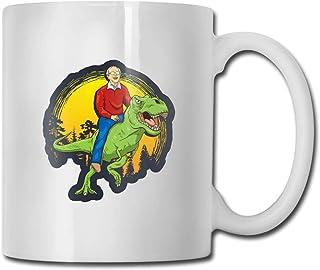 Bernie Sanders 2020 T-Rex Tasse à café en céramique Idées Tasse Meilleure tasse de cadeau de famille et d'anniversaire