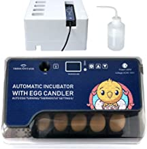 Egg Incubator with Automatic Egg Turning Turner for Ducks Goose Quail Chicken..