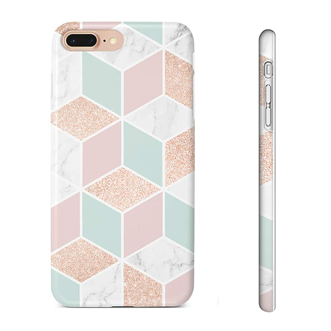 Pastel Bay Case Compatible for iPhone 8 Plus/7 Plus,iPhone 6s Plus/6 Plus 5.5