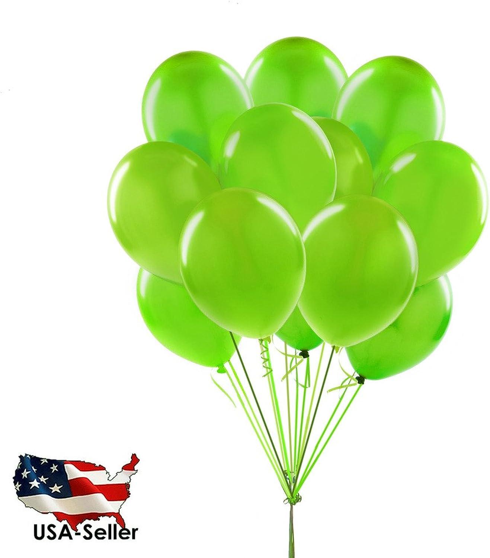 100pcs 12  DARK GREEN Wedding Balloons Birthday Party Decoration Latex BalloonsUSA SELLER(Jarty Party Brand)