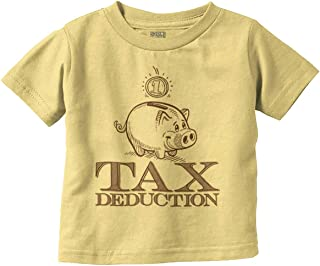 Worlds Cutest Tax Deduction Fun Baby Humor Infant Toddler T Shirt