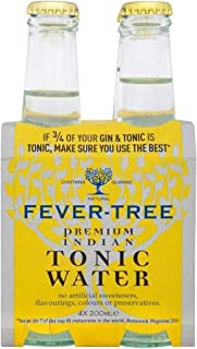 Fever Tree Indian Tonic Water (4x200ml)