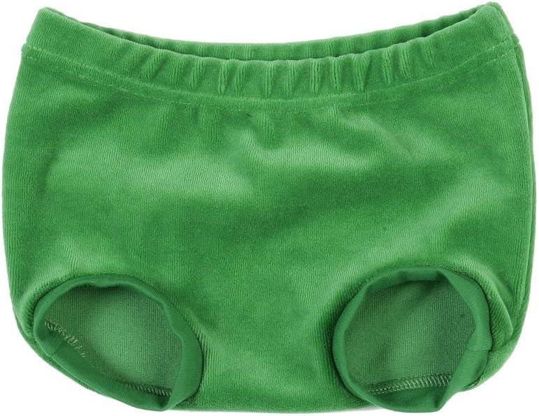 terciopelo Mundo Melocoton braga para beb/é verde Talla:50-56 cm
