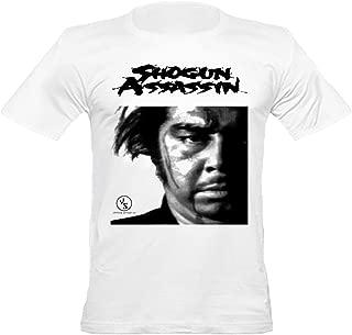 Men's Shogun Assassin Inspired Fitted T-Shirt, White