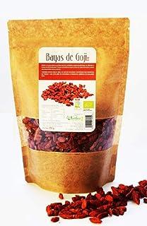 Bayas de Goji BeNatur Plus – 100% Bayas de Goji de Pureza Garantizada Libre de Pesticidas y de cualquier tipo de productos Químicos nocivos 250 g